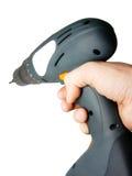 электрическое удерживание руки Стоковые Изображения RF