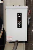 электрическо с переключателя стоковые изображения rf