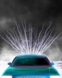 электричество автомобиля Стоковое Изображение