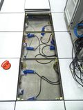 Электричество гнезда стоковое фото rf