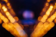 Электричество нерезкости предпосылки идеи электрической лампочки стоковое фото
