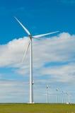 электричество производя ветрянки Стоковые Фото