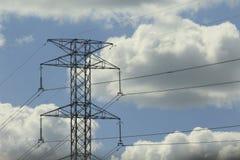 Электричество ` s Tigre пасмурное стоковое фото rf