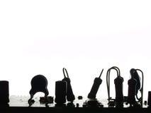 электроника принципиальной схемы Стоковые Фото