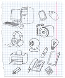 электроника Стоковое Изображение RF