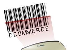 электронная коммерция barcode Стоковое фото RF