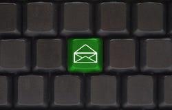 электронная почта кнопки близкая вверх Стоковое Фото