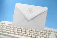 электронная почта принципиальной схемы Стоковые Фото