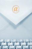 электронная почта принципиальной схемы Стоковое Фото