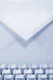 электронная почта принципиальной схемы стоковая фотография rf