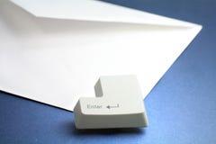 электронная почта принципиальной схемы Стоковые Фотографии RF