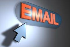 электронная почта Стоковое Фото