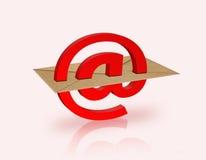 электронная почта Стоковые Изображения RF
