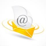 электронная почта Стоковые Фотографии RF