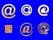 электронная почта Стоковое Изображение