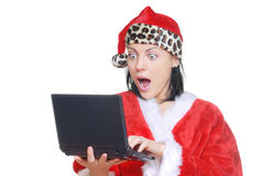 электронная почта santa claus Стоковое Фото