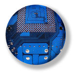 электронная сфера стоковое изображение