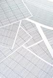 электронная таблица Стоковое Изображение RF