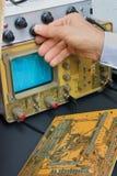 электронное обслуживание лаборатории Стоковое Фото
