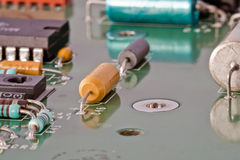 электронное радио компенсации части Стоковое Фото