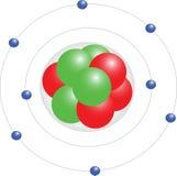 электронные орбиты Стоковое Изображение