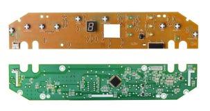 Электронный конец-вверх микросхемы стоковая фотография rf