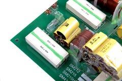 Электронный кроссовер диктора Стоковое Изображение RF