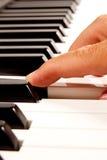 электронный рояль клавиатуры Стоковые Изображения