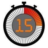 электронный секундомер при шкала градиента начиная с красным цветом секундомер 15 секунд бесплатная иллюстрация