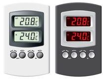 электронный термометр Стоковая Фотография