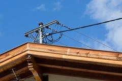 Электропитание для домов в Австрии Стоковые Изображения RF