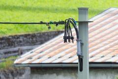 Электропитание для домов в Австрии Стоковое Изображение RF