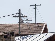 Электропитание для домов в Австрии Стоковая Фотография RF