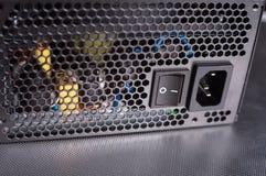 электропитание компьютера коробки Стоковая Фотография