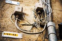 электропитание дома Стоковые Фото