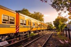 Электропоезд в Буэносе-Айрес, Аргентине Стоковое Изображение RF