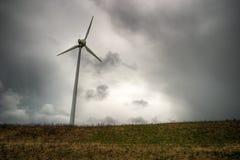 электростанция ветреная стоковое фото rf