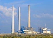 электростанция заправленная топливом ископаемым Стоковая Фотография RF