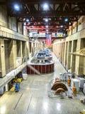 Электростанция запруды Hoover, подземные турбины - Аризона, AZ Стоковое Фото