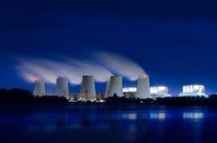 Электростанция лигнита Стоковые Изображения