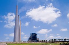 электростанция угля Стоковая Фотография