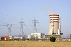 электростанция электричества стоковое изображение rf