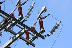 электростанция электричества Стоковые Изображения