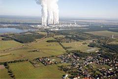 Электростанция Стоковые Фото