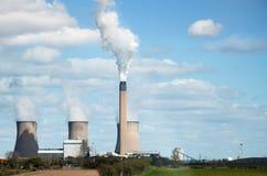 электростанция Стоковые Изображения RF