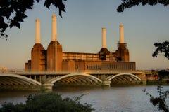 электростанция battersea Стоковые Фото