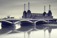 электростанция london Стоковое Изображение