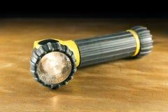 Электрофонарь на древесине Стоковое Изображение RF