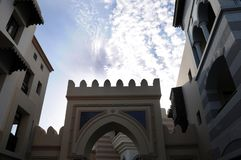 Элементы аравийской архитектуры стоковые изображения