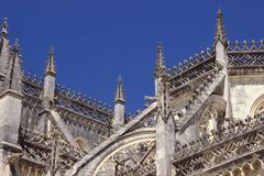 Элементы архитектуры монастырь Batalha Португалия стоковые фото